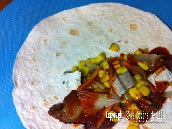 Fajitas de seit n y tofu la cocina de lila for Cocinar seitan