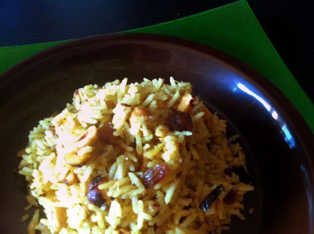 arroz con curri
