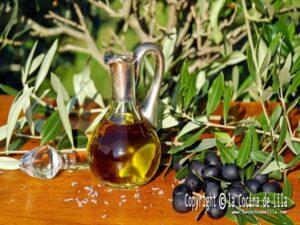 Los distintos aceites en la cocina
