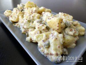 Ensalada alemana de patatas