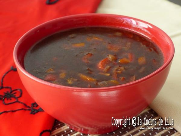 Sopa agria picante
