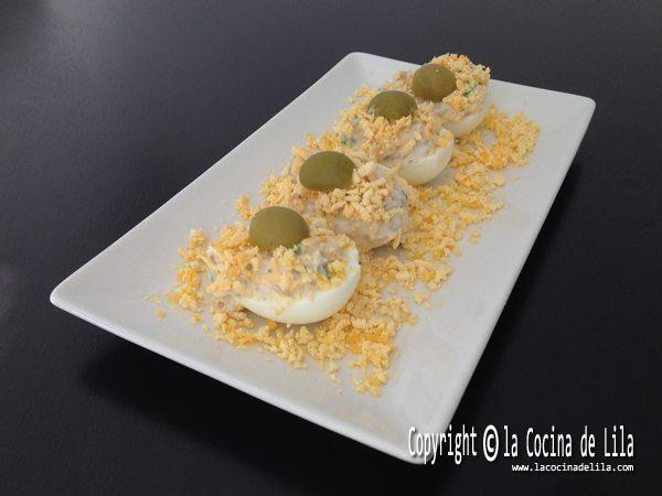 Huevos rellenos faciles