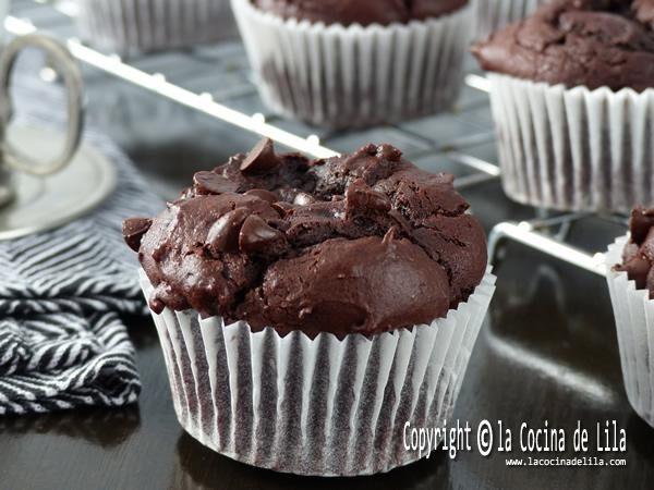 Madalenas de chocolate