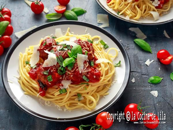 3 Recetas de espaguetis