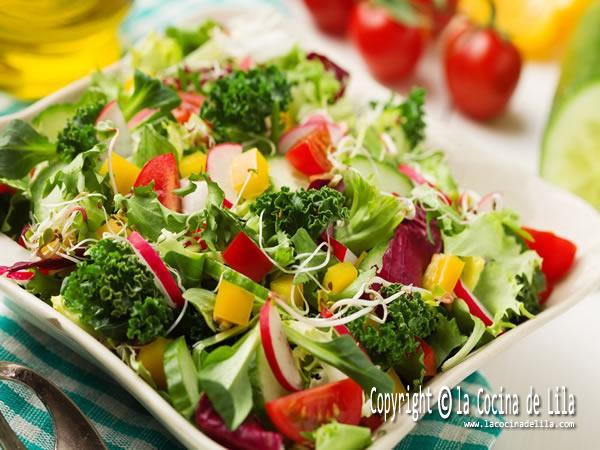 3 recetas de ensaladas