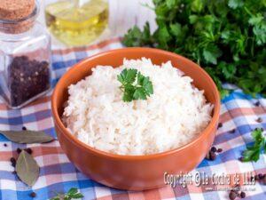 Cómo hacer arroz blanco