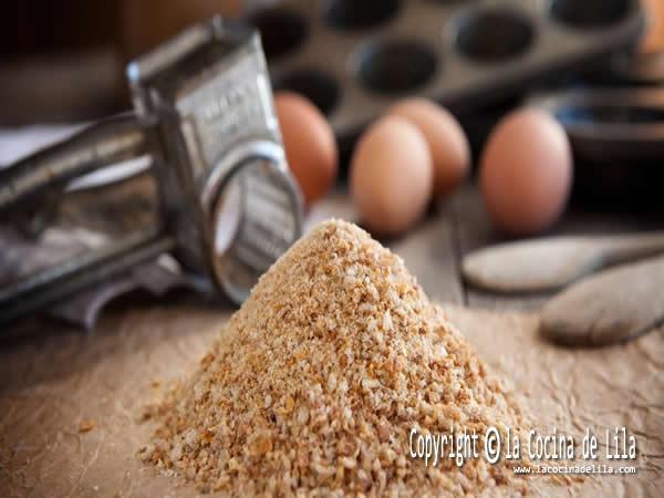 Cómo hacer pan rallado casero