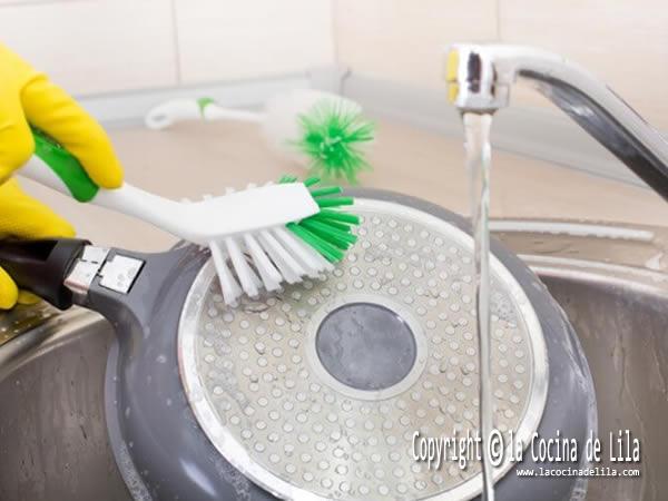 Sarten ceramica limpieza y cuidado