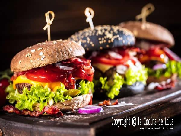 3 recetas de hamburguesas