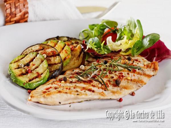 Recetas bajas en calorías