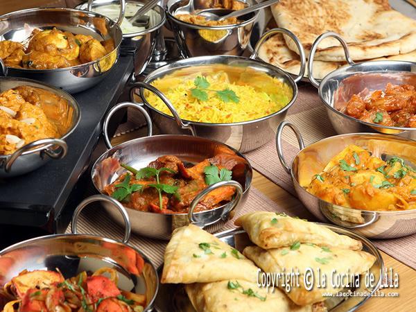 Recetas de comida india