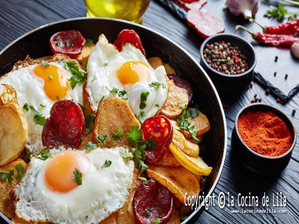 12 recetas con huevo