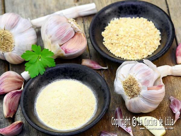 Cómo hacer ajo en polvo