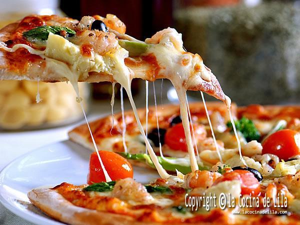 7 recetas de pizza