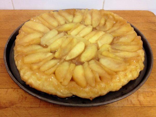 Tarta tatin de manzana