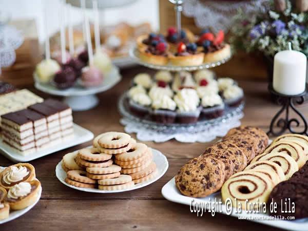 Como Preparar Una Mesa Dulce La Cocina De Lila - Mesas-dulces