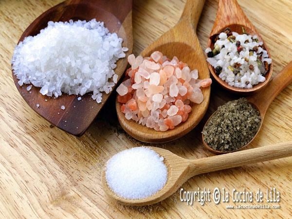 Tipos de sal que debes conocer