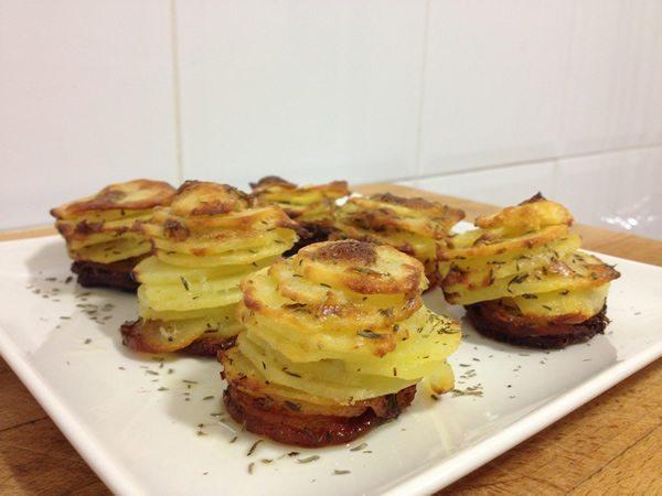 Torres de patata
