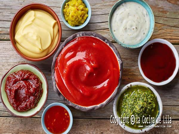 6 recetas salsas carnes
