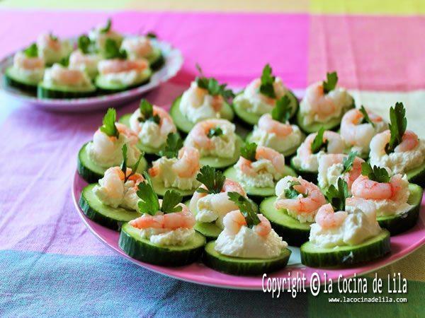 Canap s originales las 15 mejores bases la cocina de lila - Como hacer un canape ...