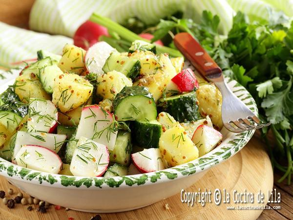 6 recetas de ensaladas con patatas