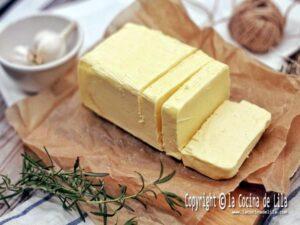 Cómo preparar mantequilla casera