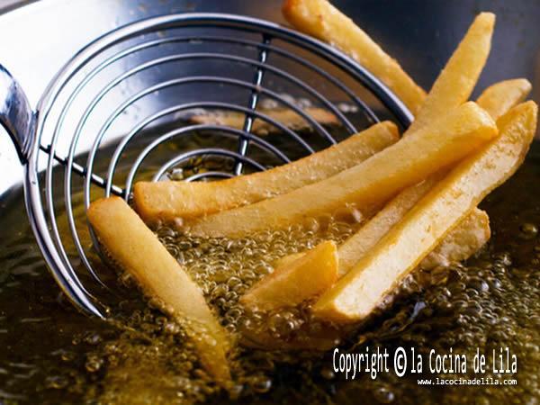 Reutilizar el aceite de freír