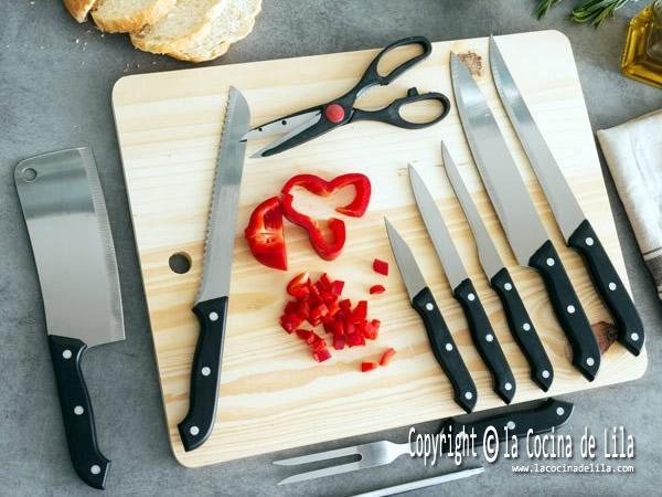 Cómo mantener los cuchillos