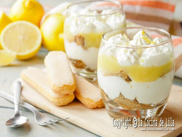 5 postres con limón