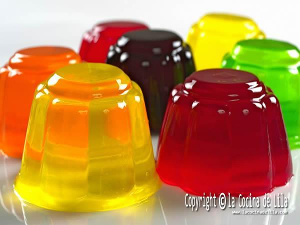 Cómo hacer gelatinas caseras