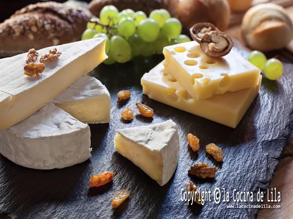 Aperitivos con queso