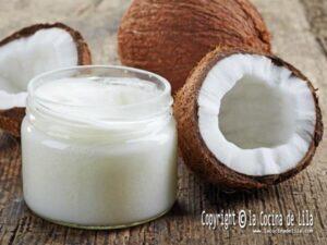 Cocinar con aceite de coco es sano