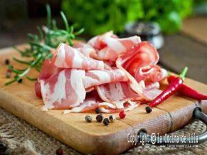 Recetas con bacon