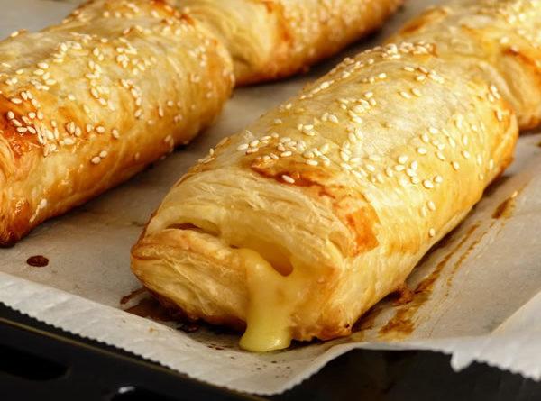 Napolitanas de jamón y queso