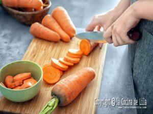 Congelar zanahorias
