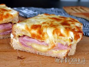 Sándwich croque monsieur